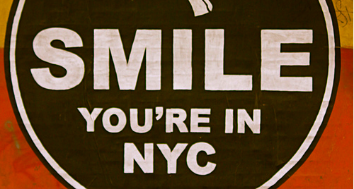 Smile You're in NYC
